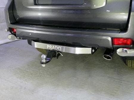 Toyota Land Cruiser 150 2009-Фаркоп (оцинкованный, надпись Prado, шар E)